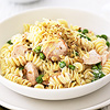 Creamy Rotini and Salmon