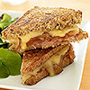 Ham & Caramelized Onion Grilled Cheese