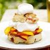 Nectarine Shortcake