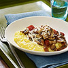 Polenta & Mushroom Sauce