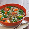 Sausage & Lentil Soup