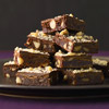 Fudge Brownies with Macadamia Nuts