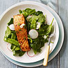 Miso-Glazed Salmon Salad