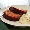 Sweet Potato Meat Loaf with Mashed Cauliflower