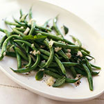 Minted French Green Beans