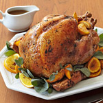 Golden Roasted Turkey with Pan Gravy