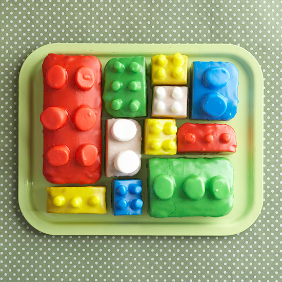 BHG: Building Blocks Cake