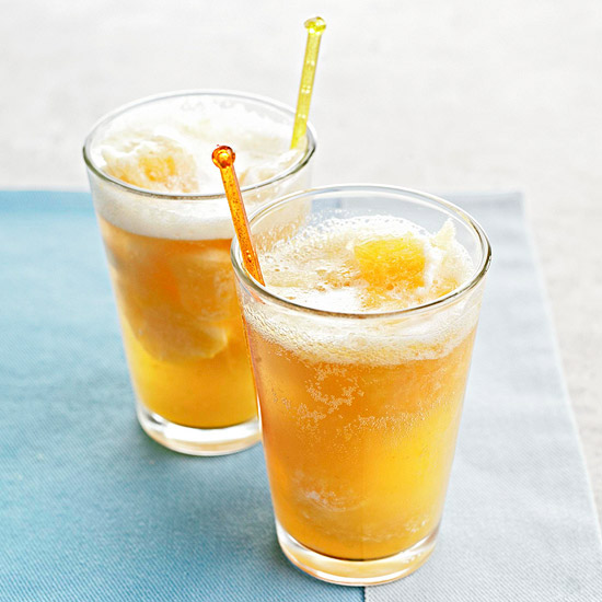 Sparkling Peach Punch