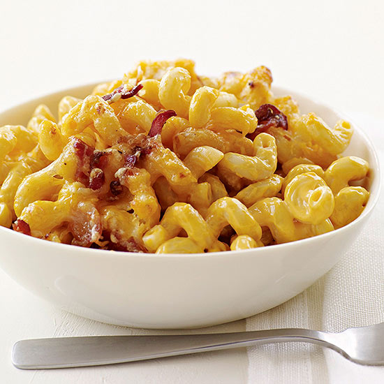 Image result for bacon mac and cheese
