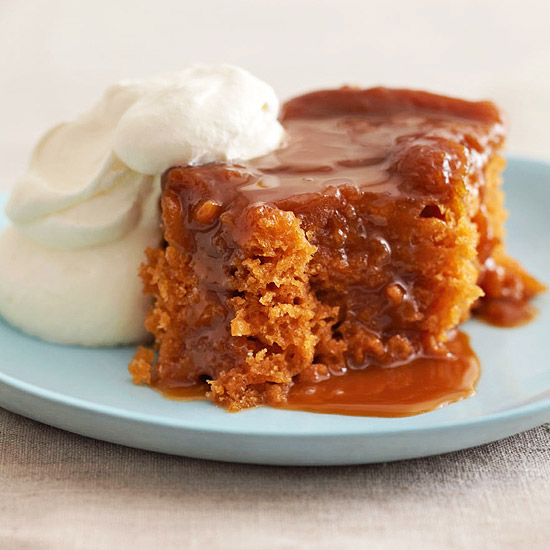 Desserts In Slow Cooker: Butterscotch Pudding Cake