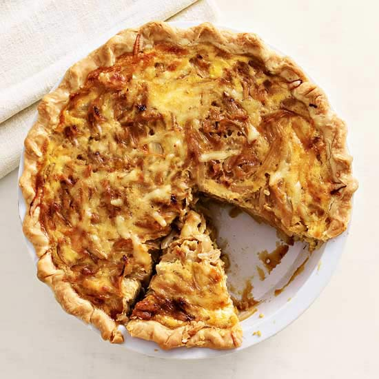 Caramelized Onion Quiche   Family Circle