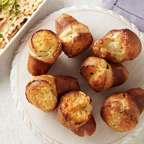 Herb and Asiago Popovers | Family Circle