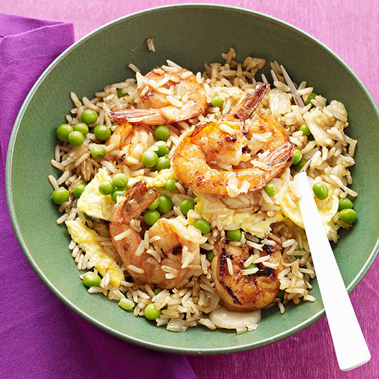 how to cook a nice fried rice with shrimp