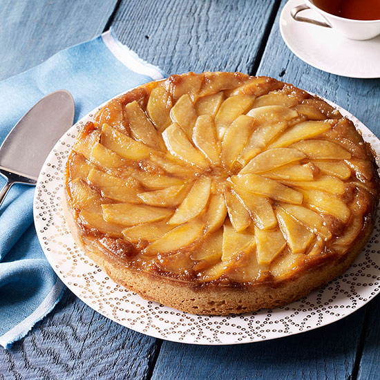 Pear Upside-Down Cake | Family Circle