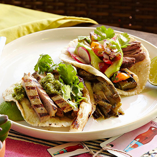 Grilled Pork Tacos | Family Circle