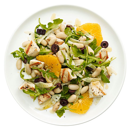 Chicken, Fennel and Orange Salad   Family Circle