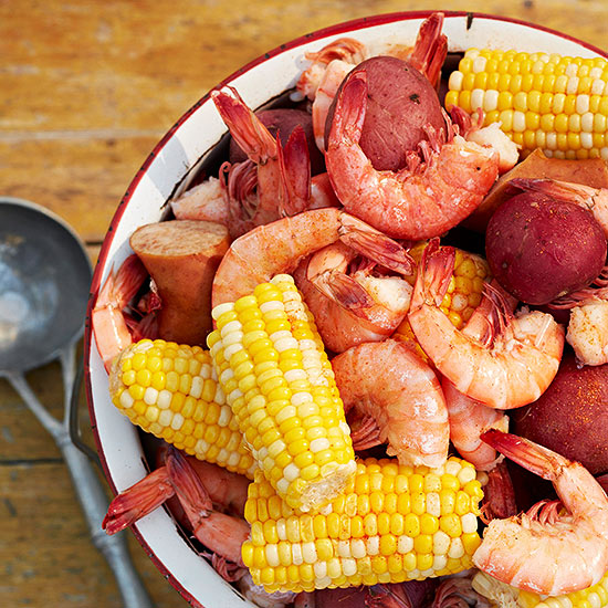 Low-Country Shrimp Boil   Family Circle