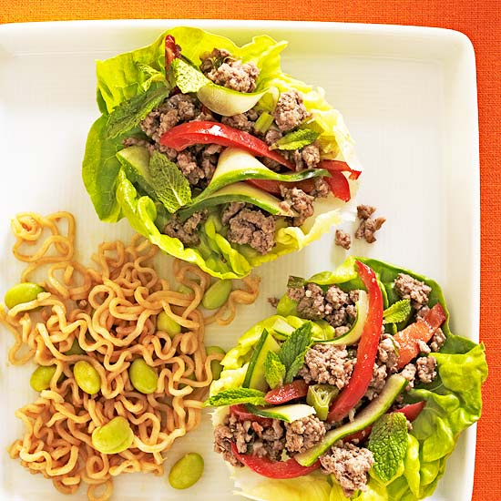 Asian Lettuce Wraps | Family Circle