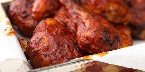 Finger-Lickin' Barbecued Chicken
