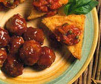 Cranberry-Sauced Meatballs