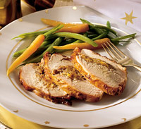 Oven-Roasted Apricot-Stuffed Turkey Breast