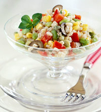 Barley-Vegetable Salad