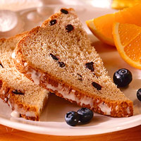 Orange-Hazelnut Blueberry Bread (Bread Machine)