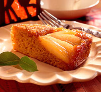 Pumpkin-Pear Cake