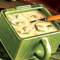 Image of Asparagus & Cheese Potato Soup, Better Homes and Garden