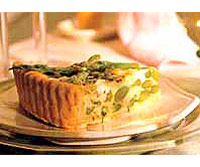 Image of Asparagus And Goat Cheese Tart, Ladies' Home Journal