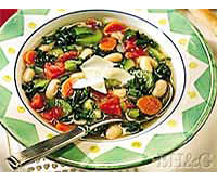 Italian Greens, Beans, and Vegetable Stew