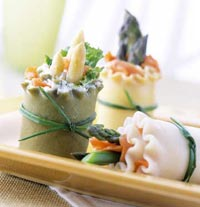 Image of Asparagus Spring Rolls, Better Homes and Garden