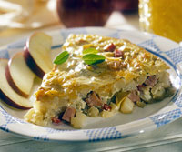 Ham and Apple Skillet
