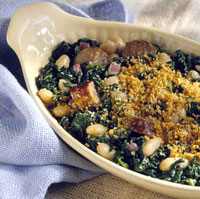 Italian Sausage and Spinach Casserole