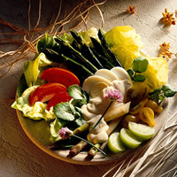 Image of Asparagus And Tomato Salad, Better Homes and Garden