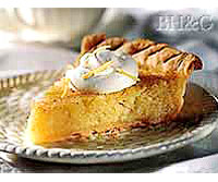 Image of Apple And Lemon Chess Pie, Better Homes and Garden