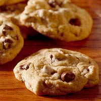 Food Processor Chocolate Chip Cookies