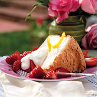Image of Angel Shortcake 'n' Lemon Cream, Better Homes and Garden