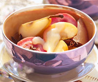 Image of Autumn Fruits With Cinnamon Custard, Better Homes and Garden