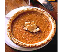 Sweet-Potato Pie with Spice Crust