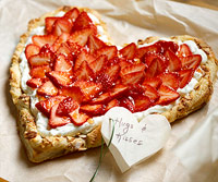 Strawberry Sweetheart Tart