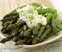 Asparagus with Orange Mayonnaise