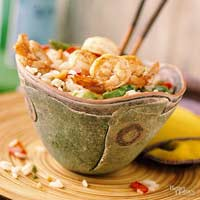 Thai Shrimp and Fresh Vegetable Rice