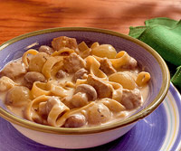 Creamy Veal and Mushrooms