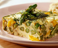 Image of Asparagus Frittata, Better Homes and Garden