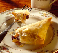 Apple Phyllo Triangles