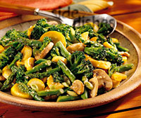 Sesame Chinese-Style Vegetables