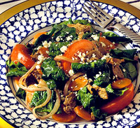 Greek Lamb Stir-Fry