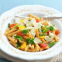 Pasta with Garden Vegetables