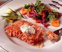 Grilled Salmon with Tarragon Mayonnaise